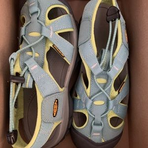 Brand new in the box. Keen women's size 7.5.